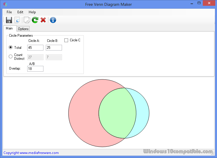 Free venn diagram maker 10 free download screenshot ccuart Choice Image